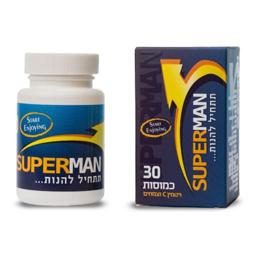 סופרמן 30 טבליות - תחליף ויאגרה